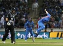 Hamilton  Indias Hardik Pandya in action during the third T20I match between India and New Zealand at Seddon Park in Hamilton  New Zealand on Feb 10  2019  Photo  Surjeet Yadav IANS