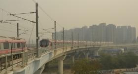 New Metro in New Delhi