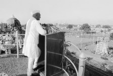 Morarji Desai clicked on the occasion of Independence Day