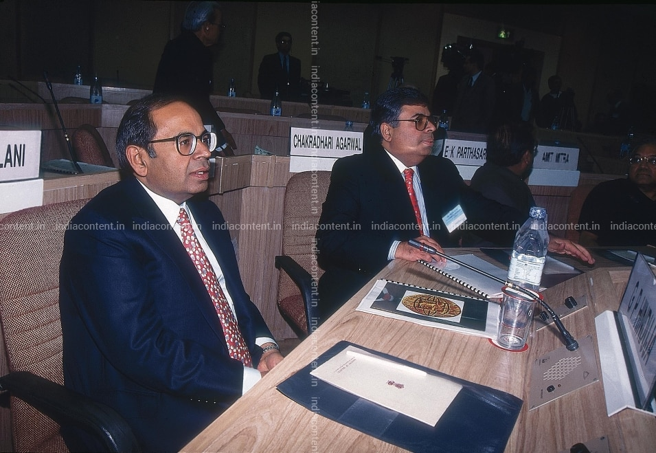 Buy Gopichand Hinduja at a conference Pictures, Images