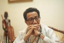 Bal Thackeray during a conversation