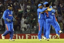 ICC cricket world cup semifinal match between India and Pakistan at Mohali