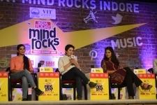 Megha Parmar and Bhawna Dehriya at Mind Rocks 2019