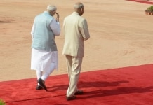 President of Zambia  Edgar Lungus visit to India