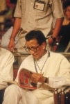 Bal Thackeray during a party function