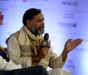 Yogendra Yadav at the India Today Conclave 2019