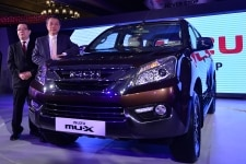 Isuzu MuX launch in Delhi