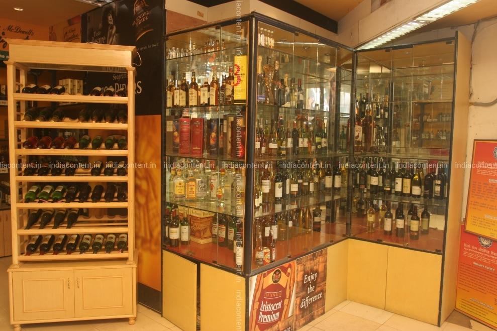 Wine and beer shop open today in delhi