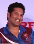 Sachin Tendulkar at the MRF Pace Foundation