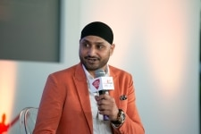 Harbhajan Singh at Salaam Cricket Conclave 2019