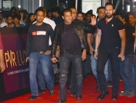 Salman Khan arrives at the premiere of his upcoming film    Bharat