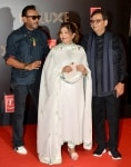 Jackie Shroff and Subhash Ghai clicked during the premiere of film    Bharat