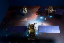 Shot of Indian Space Research Organisation in Sriharikota