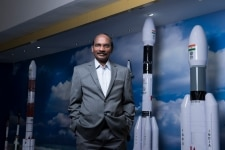 Chairperson of the Indian Space Research Organisation  Kailasavadivoo Sivan