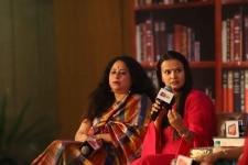 Anita Nair and Meghna Pant at Saahitya Aajta