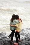Mumbaikars enjoying Monsoon