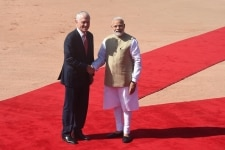 Australian PM Malcolm Turnbull visits India