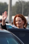 Julia Gillard in India visit