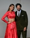 Sonam Kapoor and Dulquer Salmaan promote their upcoming film    The Zoya Factor