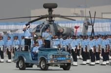 Rakesh Kumar Singh Bhadauria during Indian Air Force day celebration