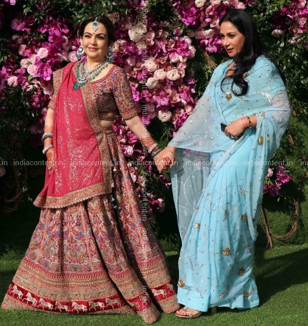 Buy Diya Kumari With Nita Ambani At Akash Ambani Shloka