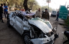 Four powerlifters killed in road accident near DelhiHaryana border