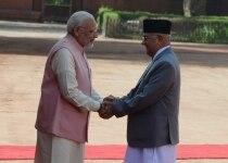 Nepal PM visit India