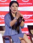 Mary Kom at Product Promotion Event