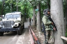 An encounter between militants and security forces