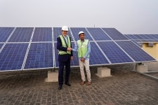 Installation of rooftop solar panels in JNU  Delhi