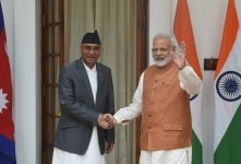 Nepal Prime Minister's visit to India