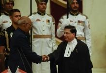 Justice Dipak Misra taking oath as CJI