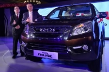 Isuzu MuX launch in Delhi