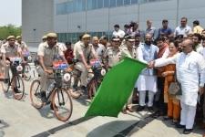 Delhi Police Bicycle Patrol Squad
