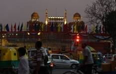 Independence Day Lighting at Red Fort