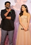 Prabhas and Shraddha Kapoor during the trailer launch of their upcoming film    Saaho