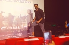 Prabhas during the trailer launch of his upcoming film    Saaho