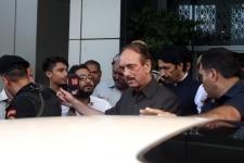 Ghulam Nabi Azad addresses media on article 370