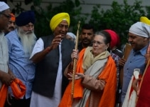 Sonia Gandhi on Gurupurab