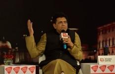 Piyush Goyal clicked during    Suraksha Sabha