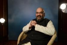 Amit Shah clicked at Panchayat AajTak