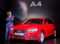 Launch of Audi A4