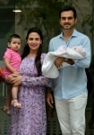 Esha Deol with new born baby