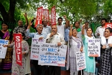 SUCI Protest in New Delhi