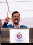 Arvind Kejriwal during the Thanksgiving process