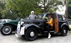53rd Statesman Vintage Car Rally in Delhi