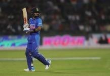 Virat Kohli during the Final ODI