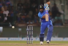 Rohit Sharma clicked during the final ODI series