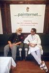 Bal Thackeray and M. F. Husain