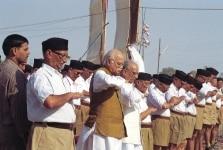 L.K. Advani at RSS Camp